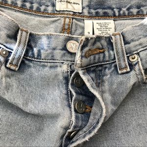 Calvin Klein Jeans - Vintage CK Calvin Klein Jeans (Bin: JE179)